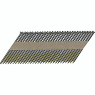 National Nail 0600270 Pro Fit 3 Inch By 0.131 Bright Smooth Shank Paper Collated Framing Nails (Pack Of 2500)