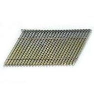 National Nail 0634170 Pro Fit 3 Inch 0.121 Hot Dipped Galvanized Ring Shank 28 Degree Wire Strip Collated Framing Nails