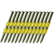 National Nail 0616192 Pro Fit 3-1/4 Inch By 0.131 Smooth Shank 22 Degree Plastic Collated Framing Nails (Pack Of 2000)