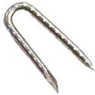 National Nail 0050058 Pro Fit Hot Dip Galvanized Fence Staples 1 Inch 1 Pound