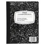 Mead 09910 100 Count Composition Book