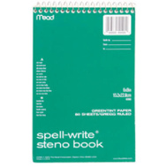 Mead 43080 80 Ct Steno Notebook