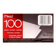Mead 63352 100 Ct 3 By 5 Index Card