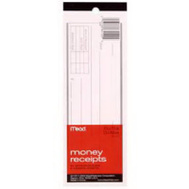 Mead 64120 Money Receipt Book
