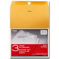 Mead 76014 10 By 13 Clasp Envelope