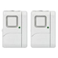 GE Jasco 45115 GE 2PK Window/Door Alarm