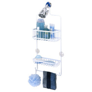 Zenith 7617WW Zenith Bathstyles Shower Head Caddy White