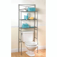Zenith 2623NN Zenith Bathstyles Bath Shelves Sat Nickel 3-Shlf