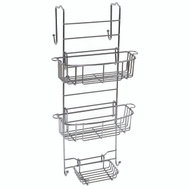 Zenith 7803SS Zenith Bathstyles Over Shower Door Caddy Chrome