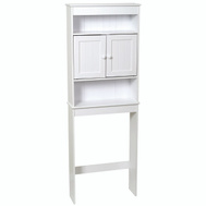 Zenith 9119W Zenith Bathstyles Bath Shelves White 3-Shelf