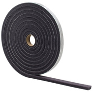 MD Building Products 02097 Grey Foam Weatherstrip Tape 3/8 Inch By 1/2 Inch By 17 Foot