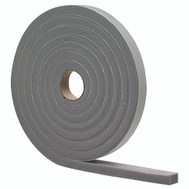 MD Building Products 02238 Grey Closed Cell Foam Tape. 1/4 Inch By 1/8 Inch By 17 Foot.