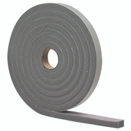 MD Building Products 02253 Grey High Density Foam Tape 3/8 Inch By 3/16 Inch By 17 Foot