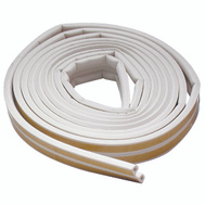 MD Building Products 02576 White Sub Zero Weather Stripping