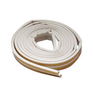 MD Building Products 02618 White Weatherstripping. 3/8 Inch By 1/8 Inch By 17 Foot.