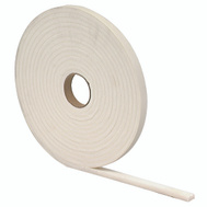 MD Building Products 02758 White Closed Cell Foam Tape.