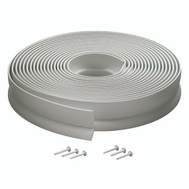 MD Building Products 03822 White Vinyl Strip Garage Door Seal