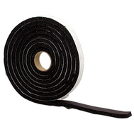 MD Building Products 06619 10 Foot Black Sponge Rubber Weatherstrip Tape 1/2 Inch By 3/8 Inch