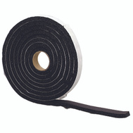 MD Building Products 06635 3/4 Inch By 3/8 Inch By 10 Foot. Black Sponge Rubber Weatherstrip