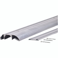 MD Building Products 08409 Aluminum Threshold 36 Inch With Vinyl Insert