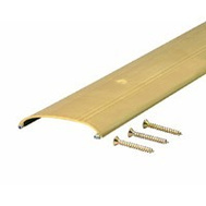 MD Building Products 09415 Aff 312. 36 Inch Bright Gold Low Boy Saddle Threshold