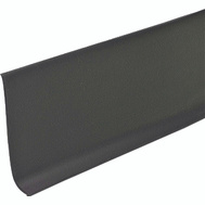 MD Building Products 23662 4 Inch By 48 Inch Black Vinyl Adhs Wall Base