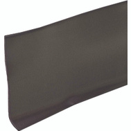 MD Building Products 23688 4 Inch By 4 Foot Brown Vinyl Adhs Wall Base.