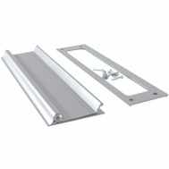 MD Building Products 28472 Aluminum Satin Mail Drop 10 Inch Wide