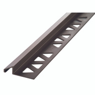 MD Building Products 31360 Tile Reduce 3/8In X 8Ft Pewter