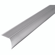 MD Building Products 43309 Stair Edge Flute 36in Sat Silv