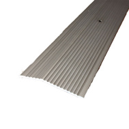 MD Building Products 43854 36 Inch Pewter Fluted Carpet Trim