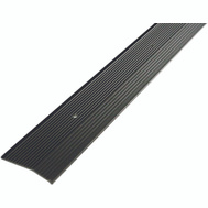 MD Building Products 43860 2 Inch Wide By 72 Inch Long Pewter Fluted Carpet Trim