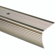 MD Building Products 43880 Edging Stair Fltd 72 In Pewter