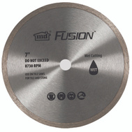 MD Building Products 48088 M D Fusion 7 Inch Diamond Wet Saw Replacement Blade