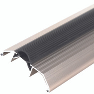 MD Building Products 49006 36 Inch Satin Nickel Threshold With Vinyl Seal