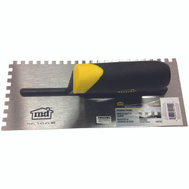 MD Building Products 49110 1/4 Inch By 1/4 Inch By 1/4 Inch Sq Notch Trowel