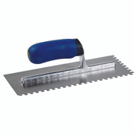MD Building Products 49112 1/4 Inch By 3/8 Inch By 1/4 Inch Sq Notch Trowel