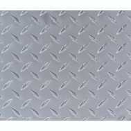 MD Building Products 56022 Diamond Pattern Solid Aluminum Tread Plate 11-7/8 By 23-7/8 Inch