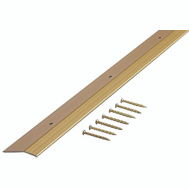 MD Building Products 72074 Carpet Bar 1-3/8 Inch By 36 Inch Satin Brass Aluminum