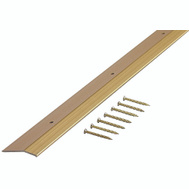 MD Building Products 72256 Carpet Bar 1-3/8 Inch By 72 Inch Satin Brass