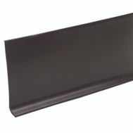MD Building Products 75234 4 Inch By 4 Foot Brown Vinyl Wall Base