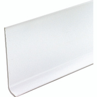 MD Building Products 75317 4 Inch By 4 Foot White Vinyl Wall Base