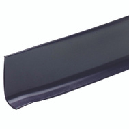 MD Building Products 75598 2 1/2 Inch By 4 Foot Black Vinyl Wall Base