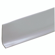 MD Building Products 75671 2 1/2 Inch By 4 Foot Vinyl Wall Base Gray