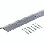 MD Building Products 78089 Carpet Trim 7/8 Inch By 72 Inch Fluted Silver