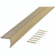 MD Building Products 79020 A726 F Stair Edging 1 1/8 Inch By 36 Inch