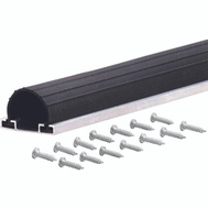 MD Building Products 87643 Garage Door Bottom Weatherstripping 9 Foot Black