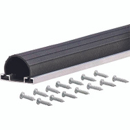 MD Building Products 87668 18 Foot Garage Door Bottom Aluminum And Vinyl