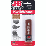 JB Weld 8257 Kwikwood Paintable Wood Repair Epoxy Putty Stick