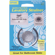 Whedon DP40C Stainless Steel Mesh Lavatory Strainer